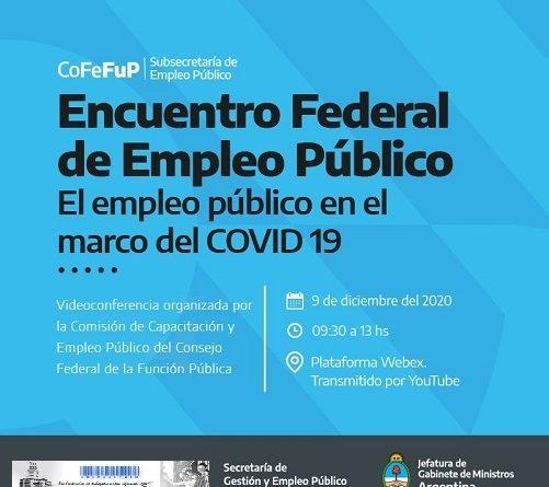 Encuentro Federal sobre el Empleo Público