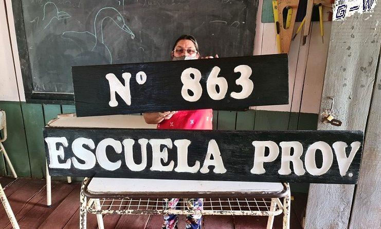Escuela provincial 863, necesita con urgencia ser erradicada por un nuevo edificio