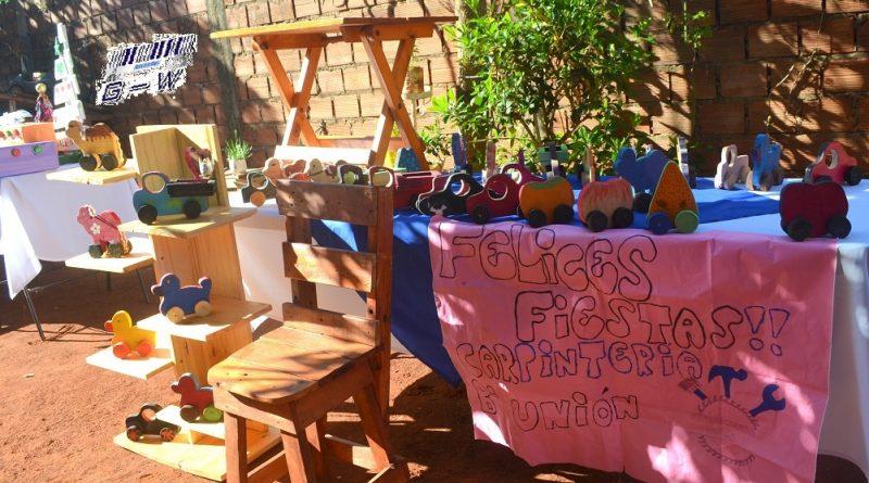 Exposición de trabajos en el cierre del año de Agrupación de Mujeres Valientes