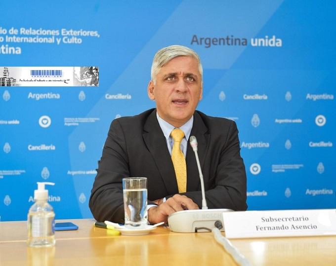 Fernando Asencio - Subsecretario de Asuntos Nacionales