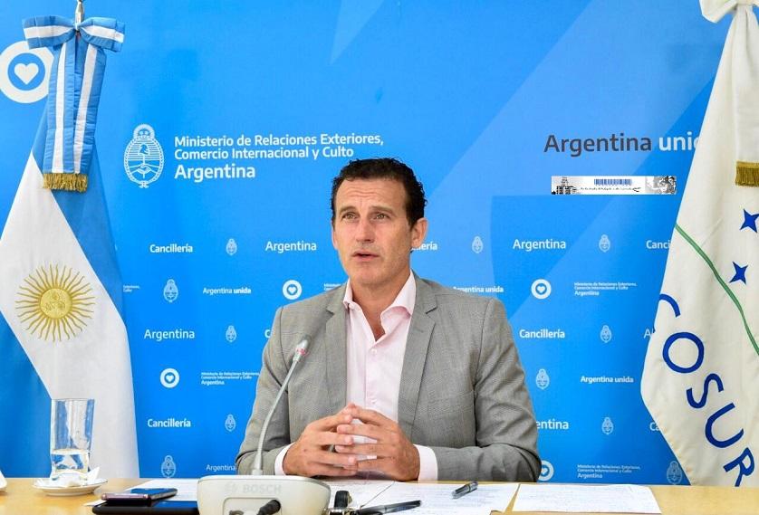 Guillermo Justo Chaves, Jefe de Gabinete de la Cancillería Argentina