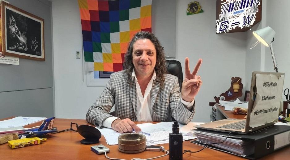 Martín Sereno, presidente del Bloque de Diputados del PAyS
