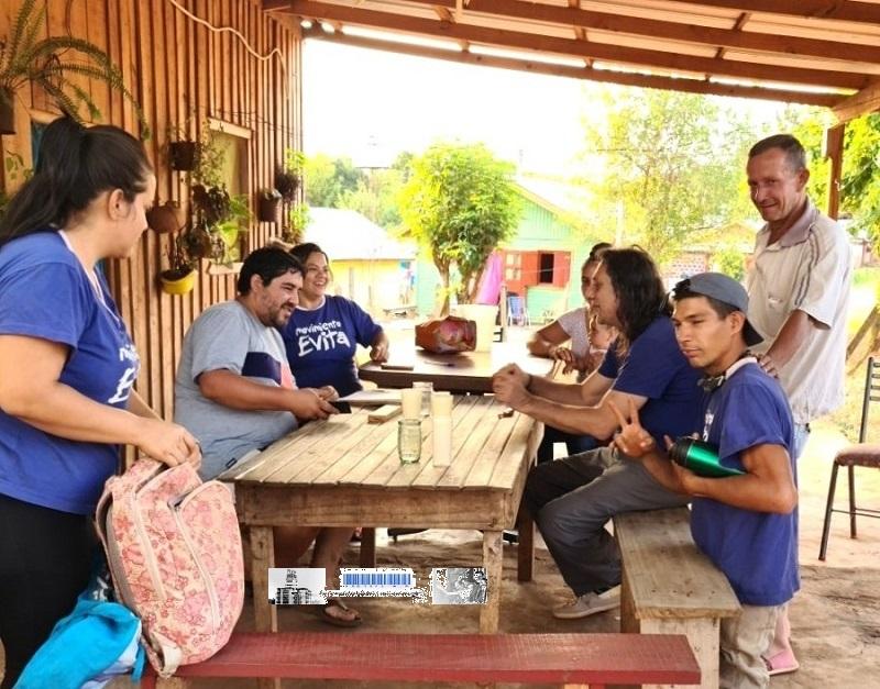 Trabajadores y trabajadoras de la economía popular de Santo Pipó, producen y viven dignamente