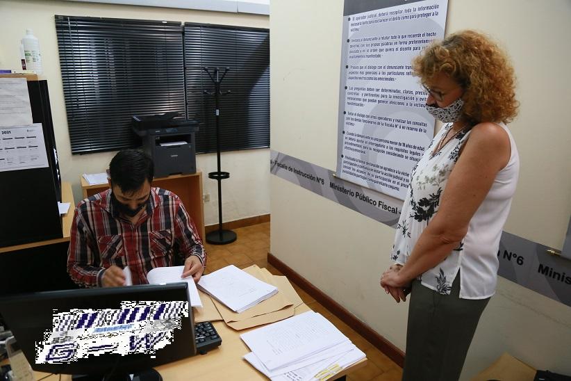 Anita Minder presento una denuncia contra el ex titular de Deportes de Misiones, Rafael Morgenstern