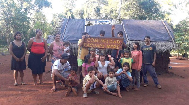 La comunidad Tacuapí Mirí reclama la construcción de su Aula Satélite