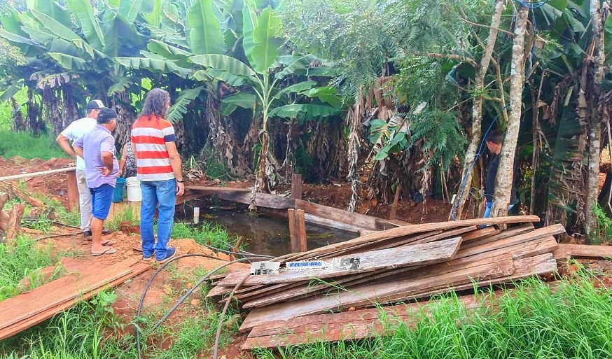 Las familias del barrio Obrero de San Vicente arriesgan su salud toda vez que consumen agua de un pozo