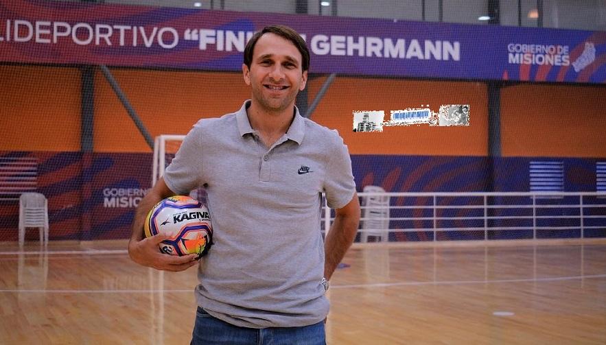 Rafael Morgenstern Ministro de Deporte de la Provincia de Misiones