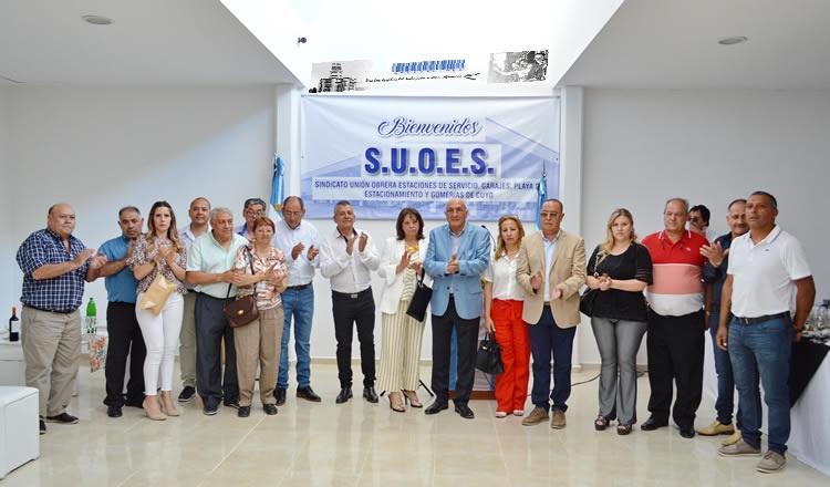 Sindicato de Estaciones de Servicio de Mendoza, San Juan y San Luis - SUOES
