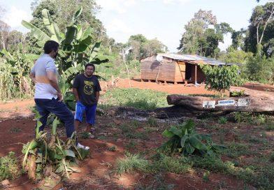 Asistencia para las 52 familias de la comunidad Mbya de Alecrín de San Pedro