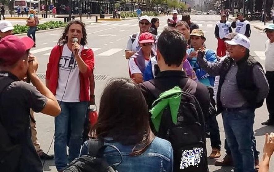 Diputado Sereno acompañando la lucha de tareferos en Buenos Aires