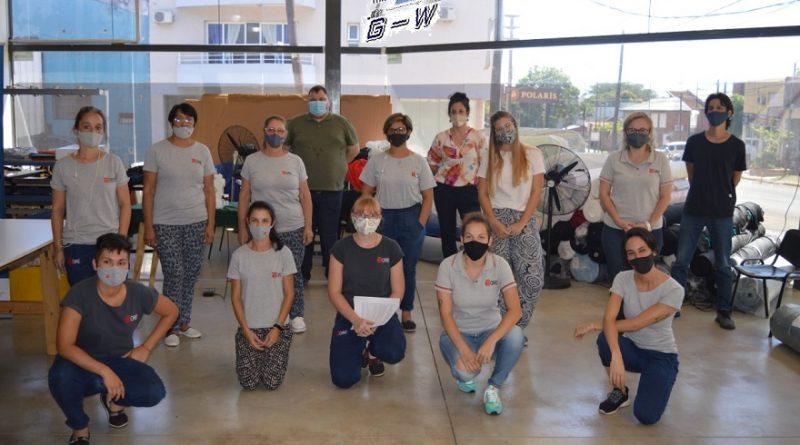 Las cooperativas Oré y Misioneritas Ltda. finalizó el ciclo de capacitaciones a trabajadoras de cooperativas textiles
