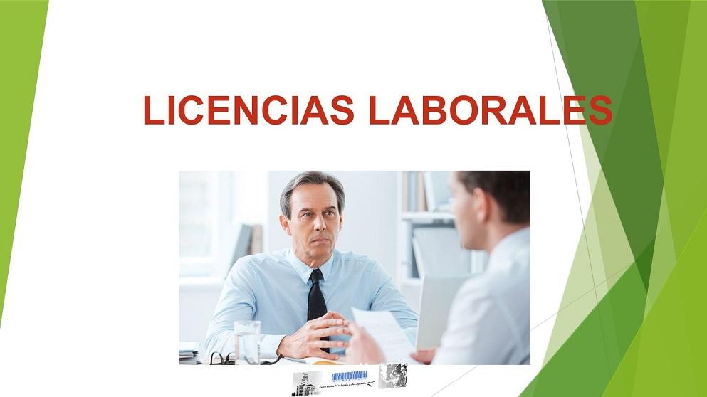 Licencias y permisos para el trabajador