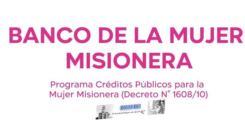 Banco de la Mujer Misionera-Logo
