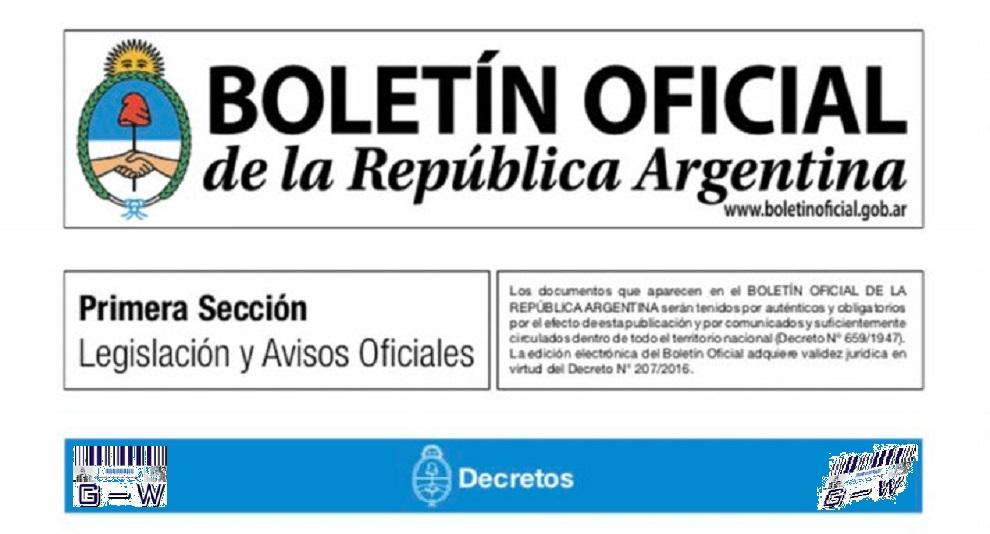 Boletín Oficial - Publicaciones