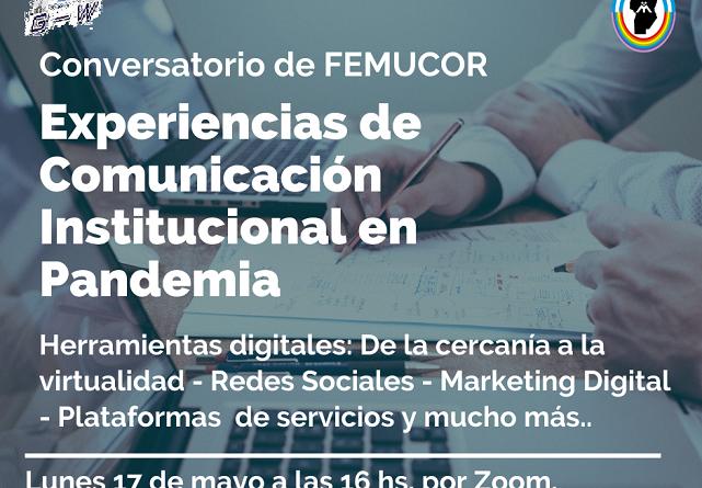 CONVERSATORIO EXPERIENCIAS DE COMUNICACIÓN INSTITUCIONAL EN PANDEMIA
