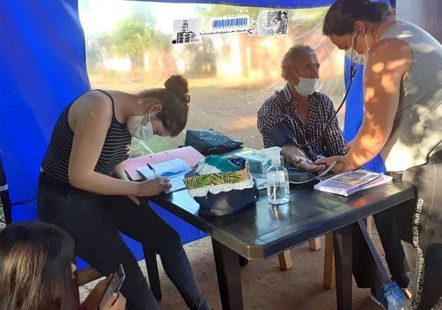 El Movimiento Evita trabaja en el desarrollo de las Postas Sanitarias en la provincia