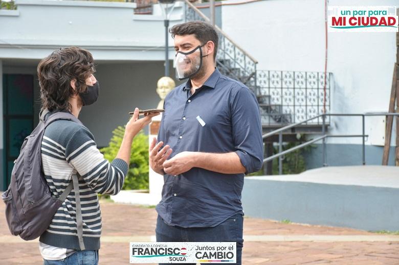 Francisco Souza - Juntos por el Cambio - candidato a concejal