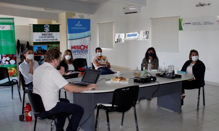 Funcionamiento de la plataforma Programa Productos Misioneros