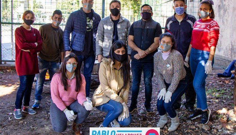 """Locro solidario con vecinos del barrio Tajamar organizado por la """"Asociación Posadas Joven"""""""