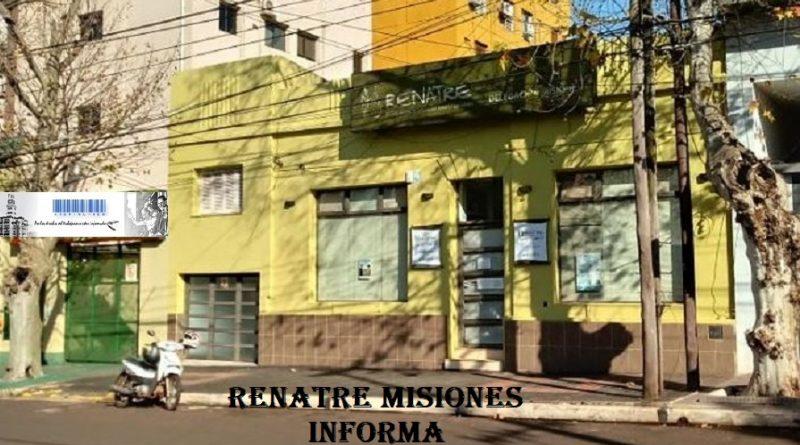 Renatre-Delegación-Posadas-Misiones