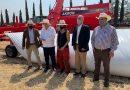 Silo bolsas argentinas con kit de maquinaria de llenado, extracción del grano y la conservación