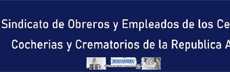 Sindicato Obreros y Empleados de Cementerios, Cocherías y Crematorios de la República Argentina