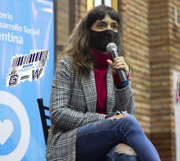 Carolina Brandariz, del Ministerio de Desarrollo Social de la Nación