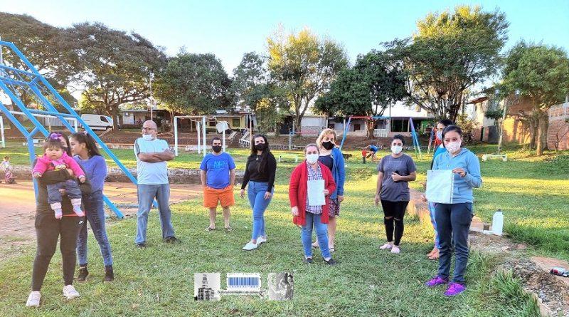 Familias de la chacra 246 reclaman viviendas dignas porque viven rodeadas de contaminación