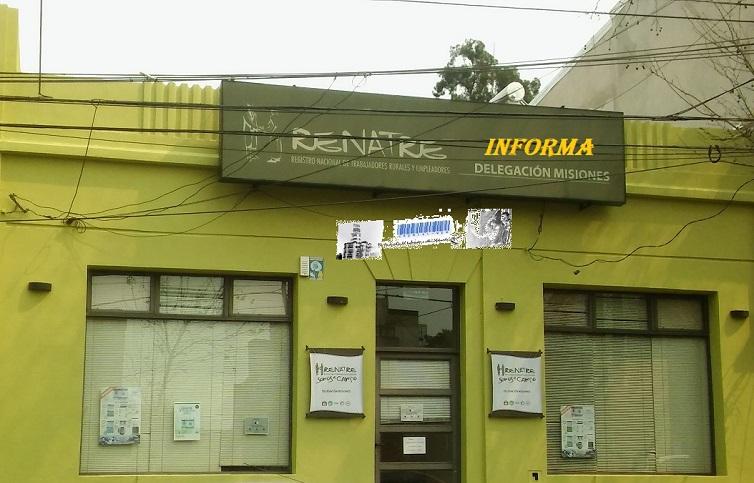 RENATRE-Delegación -Posadas Mnes. Informa