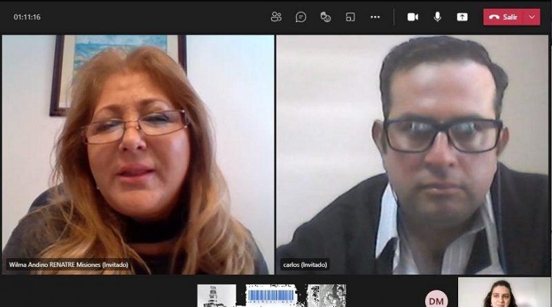 Reunión virtual de la recientemente constituida Mesa Cuatripartita - ProNapre -