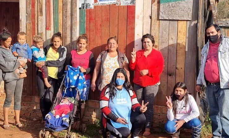 Familias del barrio Bancario de Jardín América reclaman acceso a la energía y agua potable