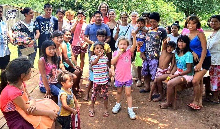 Guaranies de las aldeas Yvoty Okara y Mainomby de Bonpland