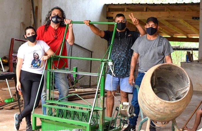 Bloquera de trabajadores de la economía popular en San Ignacio
