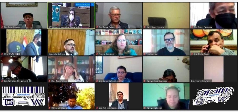 Cámara de Diputados del Paraguay- Sc. Virtual