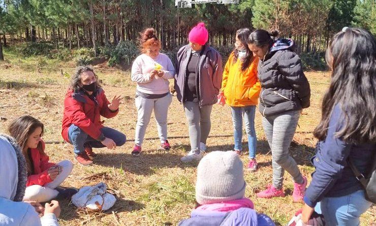 Proyecto colectivo y productivo de un grupo de jóvenes en Candelaria