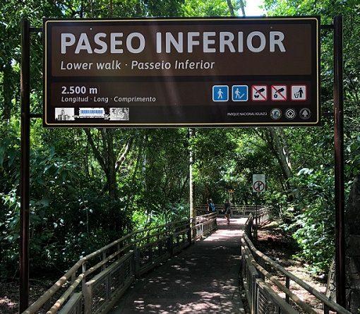 Reapertura del circuito inferior de Cataratas del Iguazú