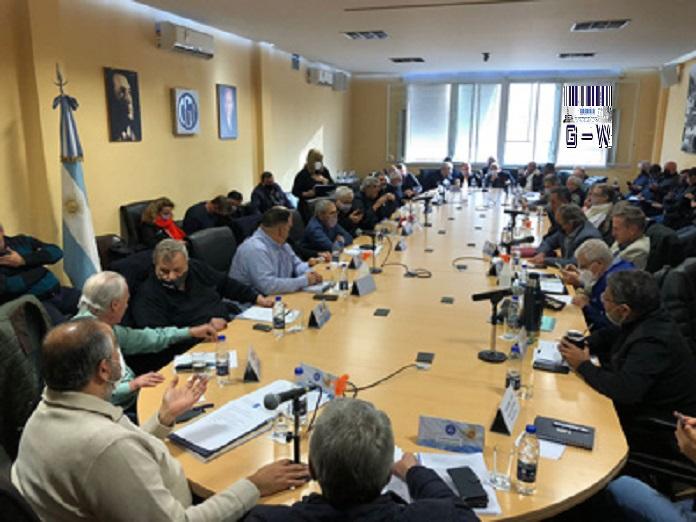 Reunión del Consejo Directivo de la CGT