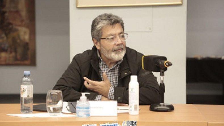 Gerardo Martínez en el lanzamiento del Foro de Participación Social