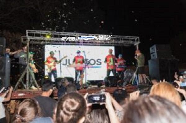 Recital de la banda Yerba Brava en San Vicente
