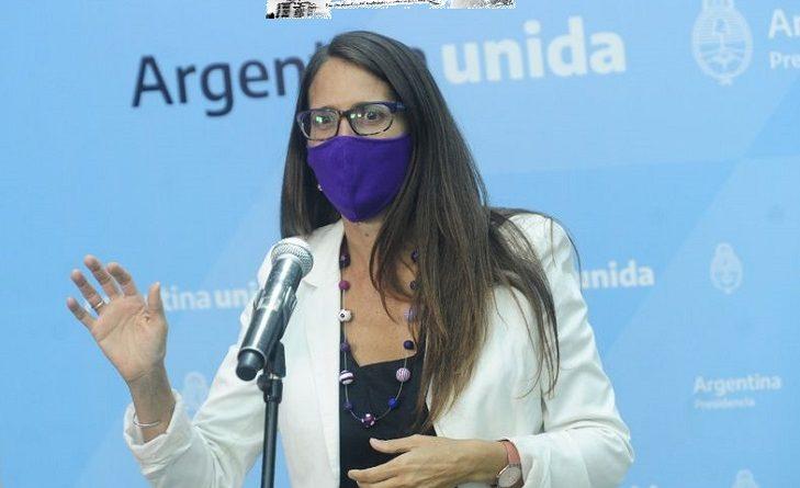 Elizabeth Gómez Alcorta Ministra de las Mujeres, Géneros y Diversidad de la Nación (MMGyD)